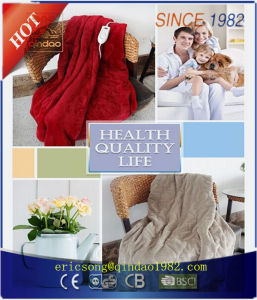ETL Approved Flannel Electric Throw Blanket pictures & photos