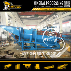 Small Mobile Gold Mining Sand Washing Trommel Scrubber (diesel power) pictures & photos