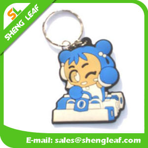 Custom Soft PVC Rubber Keychain with SGS Certification (SLF-KC068) pictures & photos