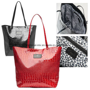 Leather Handbags Make-up Bags pictures & photos