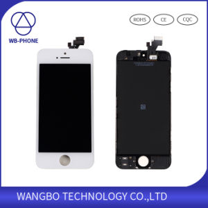 Mobile Phone LCD for iPhone 5 Screen with Good Price pictures & photos