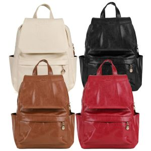 Women Backpack Fashion School Travel Leather Backpacks pictures & photos