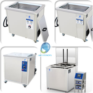 Industrial Injector Ultrasonic Washing Cleaner with Auto Lift for Automatic/Precision Metal Parts pictures & photos