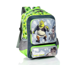 Microfiber Children School Backpack Bag with Printing (BSH20765) pictures & photos