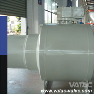 Fully Welded Body Underground Class 600# Bw/RF Ball Valve Trunnion Mounted pictures & photos