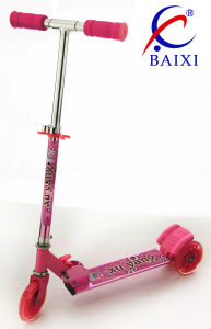 Scooters for Kids with Flashing Light (BX-3M002) pictures & photos