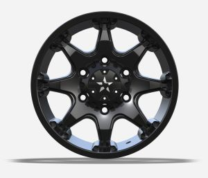 4X4 Alloy Wheels with black machine face UFO-8003 pictures & photos