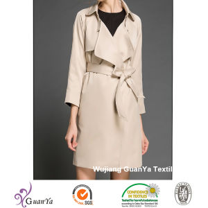 Outdoor (Waterproof$Windproof) Composition Peach Skin Fabric for Overcoat pictures & photos