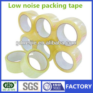 Low Noise Adhesive BOPP Packing Tape/Rubber Belt pictures & photos