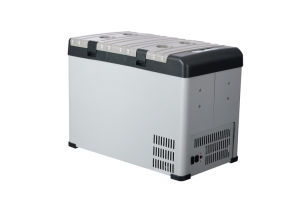 Innovative DC Compressor Refrigerator 42liter DC12/24V with AC Adaptor (100-240V) Both Used in Car or at Home pictures & photos