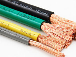 China Supplier Round Single Copper Cable