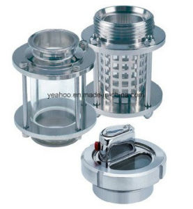 Sanitary Sight Glass Stainless Steel Welded Clamped 3A SMS ISO