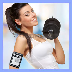 New Arrival 2200mAh Wearable Armband Sports Bluetooth Speaker with Power Bank Function pictures & photos