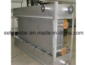 "Falling Film Type Cooling System ""All-Welded Plate Heat Exchanger"" pictures & photos"