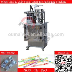 Automatic Fruit Juice Ice Lolly Jelly Stick Sachet Filling Packing Machine pictures & photos