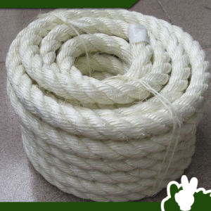 bleached white sisal rope strong and acid resistance - Sisal Rope