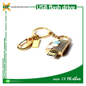 Crystal Lock USB Flash Drive Memory Stick Pendrive pictures & photos