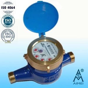 Multi Jet Liquid Sealed Type Brass Water Meter pictures & photos