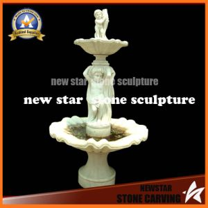 Factory Directly Stone Sculpture Water Fountain (NS-1137) pictures & photos