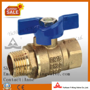 Industrial Forged Brass Ball Valves (YD-1056) pictures & photos