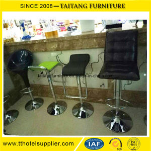 High Quality Backrest Barstool with Steel Leg pictures & photos