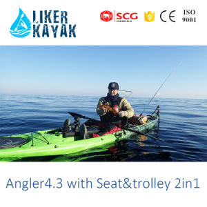 HDPE/LLDPE Fishing Kayak with Unique Seat&Trolley pictures & photos