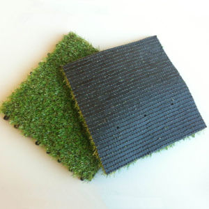 Artificial Grass Tiles 300*300mm Outdoor Football Yard Man-Made Grass pictures & photos