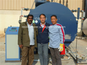 Fuel Natural Gas//LPG/Heavy Oil Steam Boiler with Worldwide Service pictures & photos