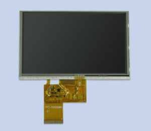 for Innolux 5inch 800X480 TFT LCD Screen 250CD/M2 LCD Screen/Interface RGB 40pin pictures & photos