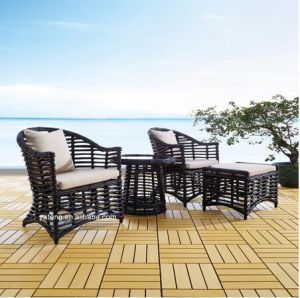 Wholesale Price Rattan Furniture General Used Garden Sofa Set pictures & photos