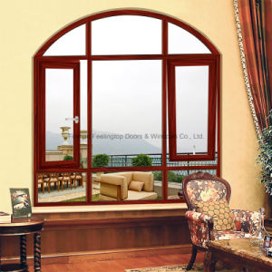 Feelingtop Double Tempered Insulating Glass Aluminium Tilt-Turn Window pictures & photos