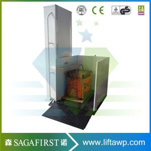 1m Hydraulic Electric Vertical Disable Lift Platform pictures & photos