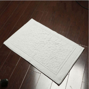 Hotel Bathroom Mats 100%Cotton Bath Mat pictures & photos
