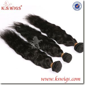 100% Human Natural Soft Unprocessed Indian Remy Hair pictures & photos