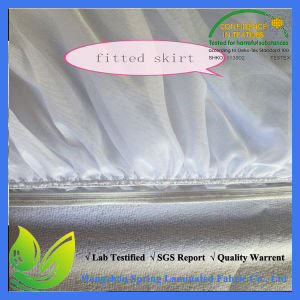 Waterproof Fitted Bed Sheet Style Mattress Protector pictures & photos