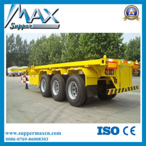 3 Axle 20′′ Skeleton Semi Trailer pictures & photos