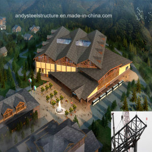 Changbai Mountain Wanda Water Park with Steel Truss Structure and Aluminium Panel Roofing pictures & photos