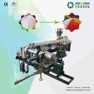 Twin+Single Screw Extruders Unit for PVC Cable Material Compounding pictures & photos