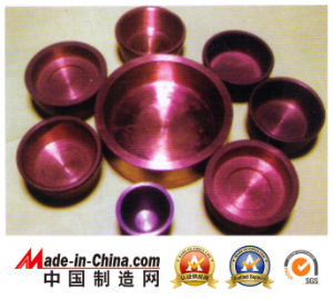 Oxygen Free Copper Crucible at High Quality pictures & photos