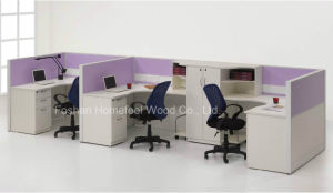 Functional Office Workstation Design Office Desk Cabinet Partition (HF-LT024) pictures & photos