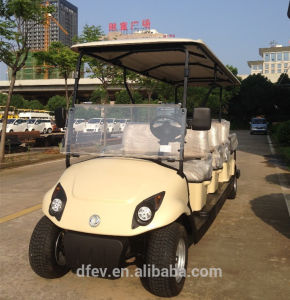 Luxury Design 8 People Electric Golf Cart with DC System