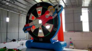 Cheap Price inflatable Football Shooting for Sale pictures & photos