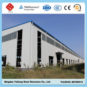 Best Quality Prefabricated Steel Structure Frame Warehouse pictures & photos
