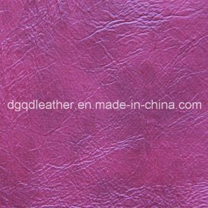 Top Selling Semi-PU Furniture Leather (QDL-51105) pictures & photos