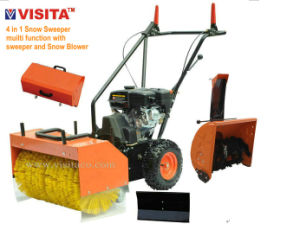 4 in 1 Multifunctional Gasoline Sweeper with Snow Blower pictures & photos