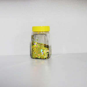 Golden Glitter Powder Is Widely Used in Cosmetics Industry pictures & photos