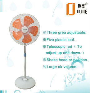 18 Inch 5 Blades Electric Stand Fan-Commericial Fan pictures & photos