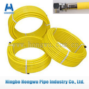 Yellow Coating Dn13 Stainless Steel Flexible Gas Pipe pictures & photos