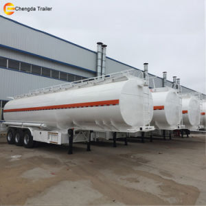 2017 Diesel Oil 3 Axle 40000liter Fuel Tanker Truck Trailer pictures & photos