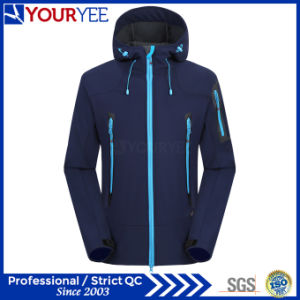 Affordable High Quality Hooded Softshell Jacket Outdoor Waterproof Jackets (YRK111) pictures & photos